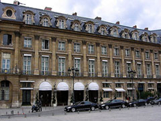 The Hotel Ritz in Paris